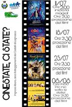 Calendario Cinema all'aperto